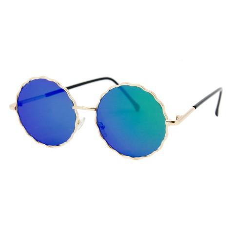 С.з очки SumWin 938 C3 зелено-черное зеркало