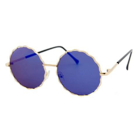 Солнцезащитные очки SumWin 938 C5 коричнево-серое зеркал