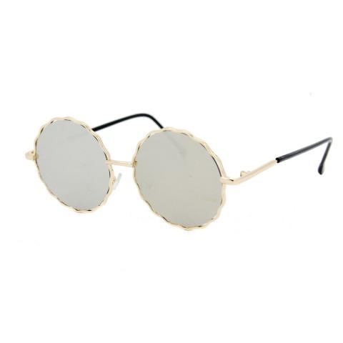 Солнцезащитные очки SumWin 938 C6 серо-желтое зеркало