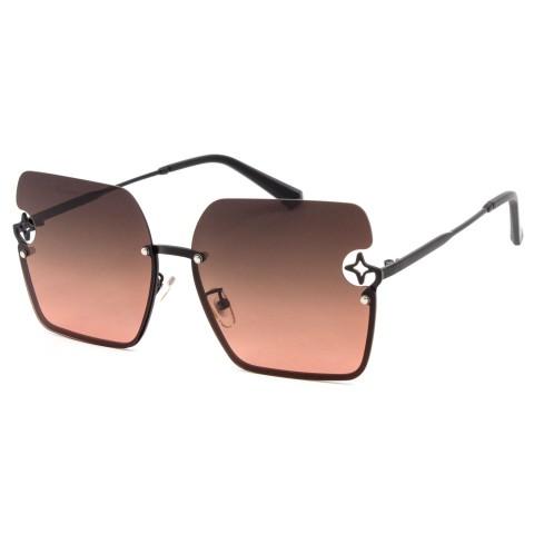 Солнцезащитные очки SUMWIN 6380 C3 серебро черный град.