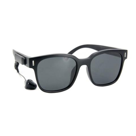 Солнцезащитные очки SumWin BU01 C3 черный+черная линза блютуз
