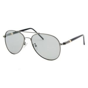 Солнцезащитные очки SumWin 209 C4 фотохром серая линза серый металл