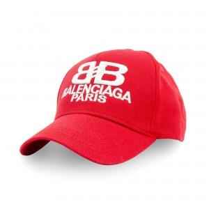 Бейсболка BALENCIAGA красный