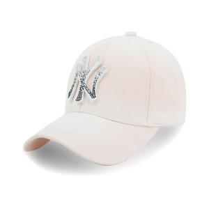 Бейсболка CHAO BAI NY ГРАДИЕНТ стразы розовый