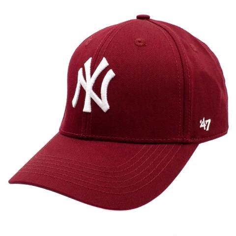 Бейсболка SR22 NY 47 красный