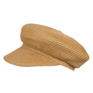 Шляпа женская Кепи YM-8300 т.бежевый