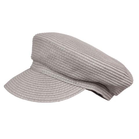 Шляпа женская Кепи YM-8300 серый