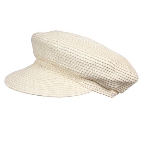 Шляпа женская Кепи YM-8300 молоко