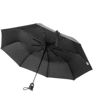 Зонт складной полуавтомат Airton 3610 ,черный,3сл.,8сп.,упак.12 шт.