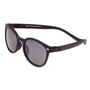 Детские солнцезащитные очки оптом 887 C13 черный мат.