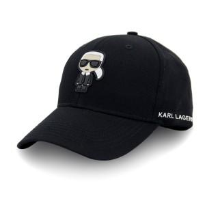 Бейсболка SR22 KARL LAGERFELD резина фигурка коттон форма цветной черный/цветной