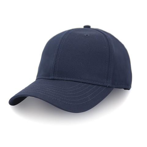 Бейсболка SR22 ПУСТЫШКА коттон форма тем.синий
