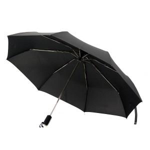 Зонт складной автомат Trust 31470,черный,3 сл.,8 сп.