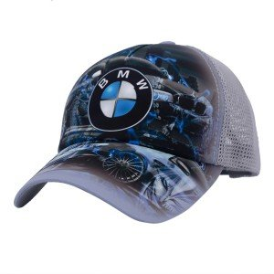 Бейсболка ALS BMW серый