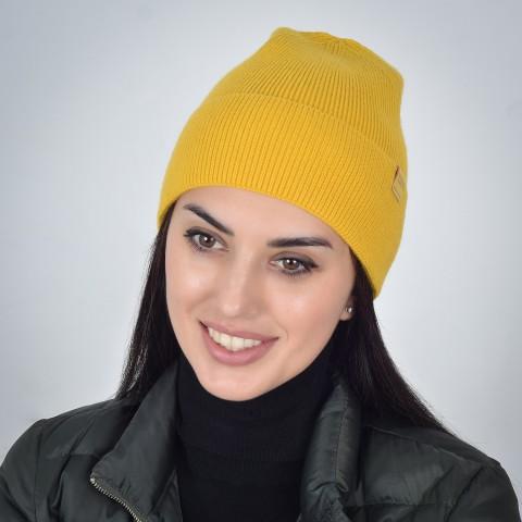Шапка Mali ИТАКА B032 желтый
