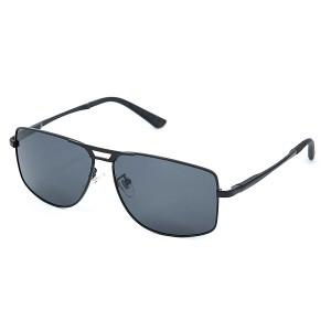Солнцезащитные очки оптом SUMWIN 63895 C2 черн+черн ПОЛЯРИЗАЦИЯ