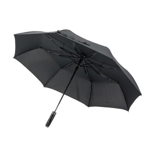 Зонт складной полуавтомат Airton 3620 ,черный,3сл.,8сп.,упак.12 шт.