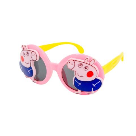 Солнцезащитные очки SumWin Polar 18131 Пеппа типса C1 розовый желтый