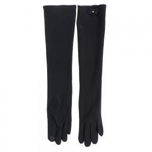 Перчатки женские лайкра СЕНСОР 1В24-50 черный, упаковка 10 шт.