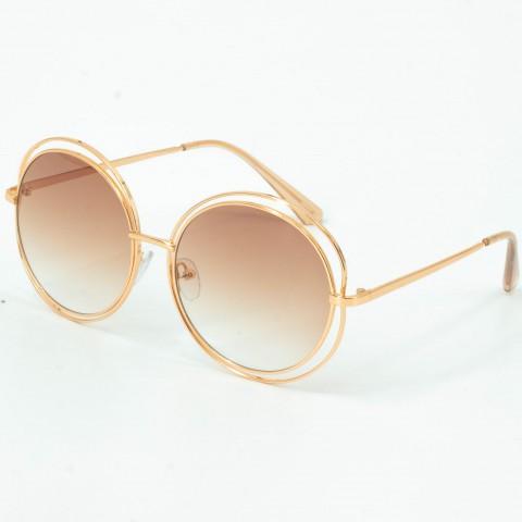 Солнцезащитные очки SUMWIN 3737 C3 розов золото+св кор градиент