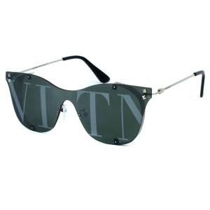 Солнцезащитные очки Valentino 5093 C4 серебро зел. траф.