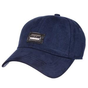 Бейсболка фулка PHILIPP PLEIN велюр синий