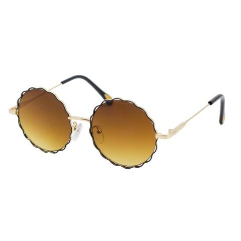 Солнцезащитные очки SumWin 582 C1 золото коричневый