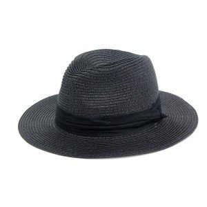 Шляпа федора SumWin ДОМИНИК черный