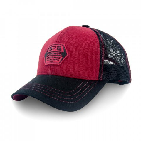 Бейсболка Hook BBS-572/BURGUNDY р.S