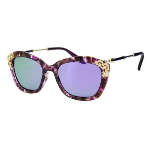 С.з очки Gucci 222 C7 бордо зеркало
